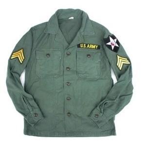 ds-2279388 ジョンレノンタイプアメリカ軍ファーティングシャツ 15h(メンズM相当) (ds2279388)|tantanplus