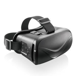 エレコム VRG-BT02BK VRゴーグル スマホ Bluetooth コントローラー 一体型 充電式 動画鑑賞 4.0〜6.5インチ スマートフォン ブラック (VRGBT02BK)|tantanplus
