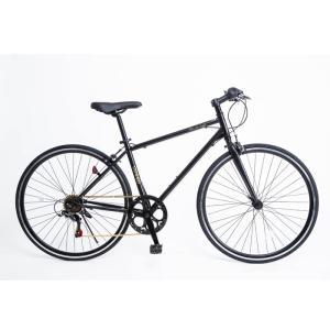 21Technology 4562320302029 クロスバイク(6段変速付き)泥除けなし、ディレイラーガード無し (CL266-マットブラック)|tantanplus