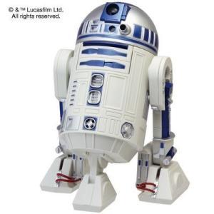 リズム時計 8ZDA21BZ03 STARWARS R2-D2 アクション・アラームクロック 目覚し時計