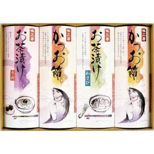 三盛物産 QG-30 味工房 特選バラエティギフト [かつお節 30g×2、わさび茶漬け 6g×7、梅茶漬け 6g×7] (QG30)