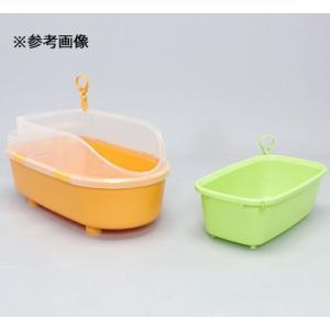アイリスオーヤマ 4905009955275 ペット用バスタブ BO-600E オレンジ(クリアのカバーは付いておりません) tantanplus