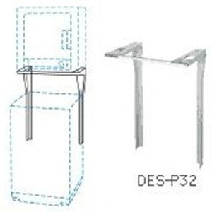 【納期目安:01/28入荷予定】日立 DES-P32-S [直付け方式]ぴったりスタンド 乾燥機スタンド(シルバーグレー) (DESP32S)|tantanplus