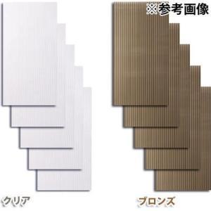 アイリスオーヤマ 4905009536009 ポリカプラダン ブロンズ【5枚セット】 tantanplus