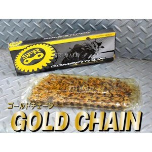 ゴールドチェーン バイク用チェーン 520-110L 低騒音 tantobazarshop