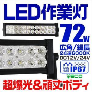 LEDワークライト 72W 投光器 作業灯 防水|tantobazarshop