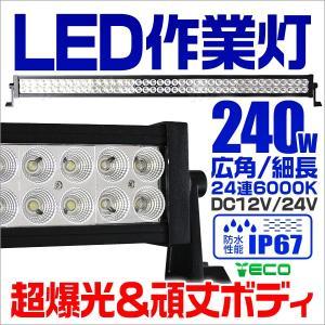 LEDワークライト 240W 投光器 作業灯 防水 1年保証|tantobazarshop