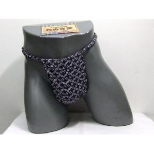 六尺ふんどし かんつなぎ(黒) Lサイズ|tanukidou