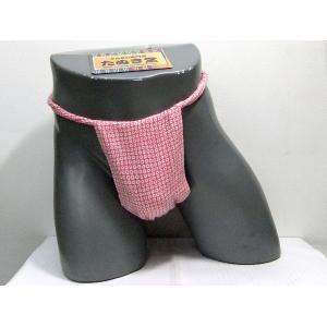 六尺ふんどし かのこ(桃) Lサイズ|tanukidou