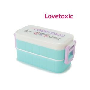 ラブトキシック 保冷剤ケース&お箸つきドリンク柄お弁当箱 LOVETOXIC
