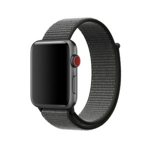iFormosa Apple Watch 42mm ケース用 バンド ナイロン オリーブ|taobaonotatsujinpro
