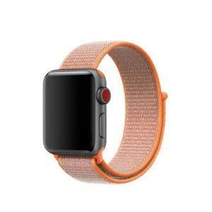 iFormosa Apple Watch 42mm ケース用 バンド ナイロン オレンジ|taobaonotatsujinpro