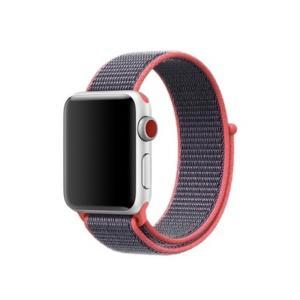 iFormosa Apple Watch 42mm ケース用 バンド ナイロン ピンク|taobaonotatsujinpro