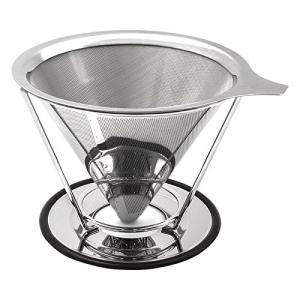 iFormosa コーヒー ドリッパー ステンレス フィルター ペーパーフィルター不要 1?4杯用 メッシュ構造 IF-CF-DRM taobaonotatsujinpro