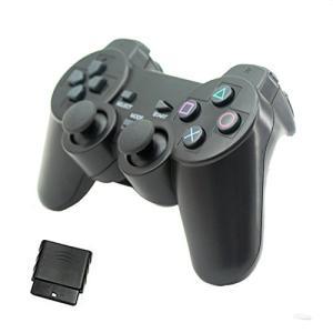 ワイヤレス2.4G ゲームコントローラー ゲームパッド 下記機種対応:パソコン、プレイステーション2...