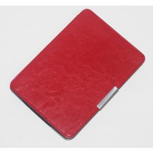 iFormosa Amazon Kindle Paperwhite用レザーカバー (Kindle Paperwhite専用)  レッド 磁石なしタイプ(2017年以前対応 2018非対応) taobaonotatsujinpro