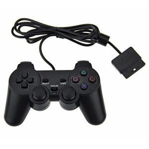 高品質のABS材料 有線 PlayStation 2 専用コントローラ
