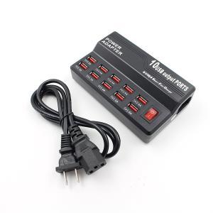 iFormosa USB 充電ステーション 充電器 USB電源アダプタ 10ポート iPhone iPad Android 等対応 60W 10ポート|taobaonotatsujinpro