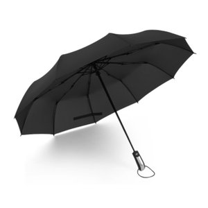 iFormosa 傘 折り畳み傘 ワンタッチ自動開閉 10本骨 116cm 耐風撥水 晴雨兼用 ブラック|taobaonotatsujinpro