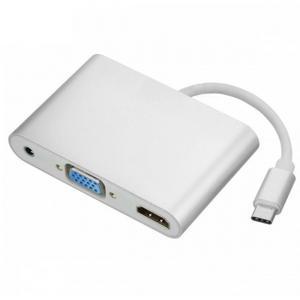 iFormosa USB-C to HDMI VGA 音声 アダプタ IF-USBCTOHDMIVGA|taobaonotatsujinpro