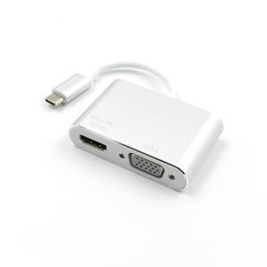 iFormosa USB-C to HDMI 2K 4K VGA アダプタ IF-USBTOHDMIVGA|taobaonotatsujinpro