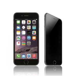 【アウトレット】0.3mm iPhone 6 Plus 用 強化ガラス 液晶保護フィルム プライバシー保護 覗き見防止タイプ|taobaonotatsujinpro