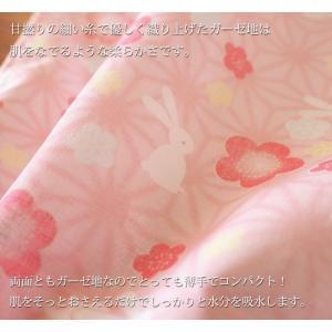ガーゼ手ぬぐい 3枚セット やわらか てぬぐい 送料無料 日本製|taorunomori|02