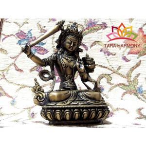 仏像 文殊菩薩 H15cm|tara-harmony
