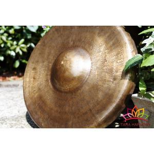 銅鑼(ドラ)39cm マントラ[DR13001]|tara-harmony