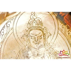 シンギングボウル 22cm jambara(宝蔵神) 美音 [HB160035-22C] シンギングボール セラピー ヒーリング 癒し 瞑想 ヨガ おりん 民族楽器|tara-harmony