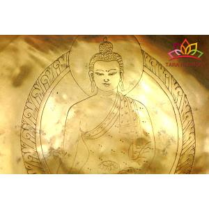 シンギングボウル 23cm 阿しゅく如来 美音 [HB160054-23B] シンギングボール セラピー ヒーリング 癒し 瞑想 ヨガ おりん 民族楽器|tara-harmony