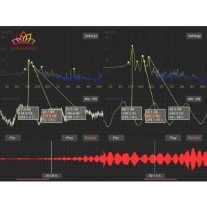 シンギングボウル 25cm フトマニ  ソルフェジオ周波数174Hz,285Hz検出! [LB170236-25D] シンギングボール セラピー|tara-harmony|05