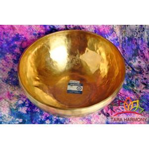 シンギングボウル 巨大!33cm 超美音【ソルフェジオ周波数 174Hz285Hz検出!】  [SB180460-33G] シンギングボール セラピー  ヨガ 瞑想|tara-harmony|04