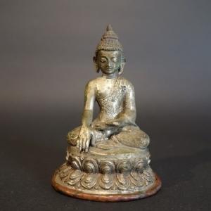 【仏像】釈迦如来 彫金仕上げ 10.5cm【送料無料】|taradou