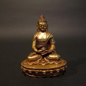 【仏像】阿弥陀如来(アミターバ・アミターユス)小さな仏像 7.5cm【送料無料】|taradou