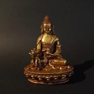 【仏像】薬師如来(薬師瑠璃光如来)小さな仏像 7.5cm【送料無料】|taradou