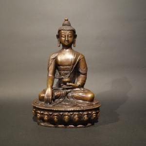 【仏像】釈迦如来 銅製 21cm 【送料無料】|taradou