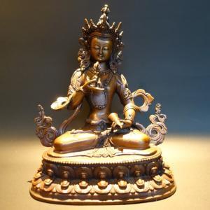 【仏像】金剛薩た(金剛薩タ) 銅製 24cm【送料無料】 taradou