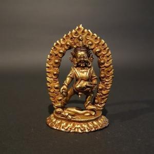 【仏像】毘沙門天(多聞天)小さな仏像 8.5cm【送料無料】|taradou