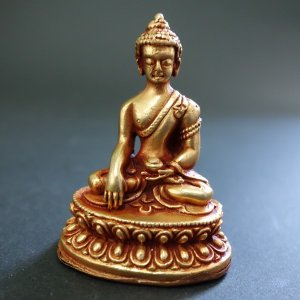 【仏像】釈迦如来 銅製 小さな仏像 6cm|taradou