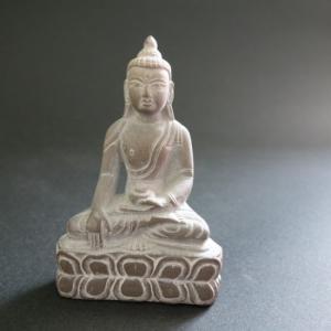【仏像】釈迦如来 石製 小さな仏像 8.5cm【送料無料】|taradou