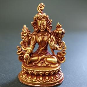 【仏像】白多羅菩薩(ホワイトターラ) 小さな仏像 6cm|taradou