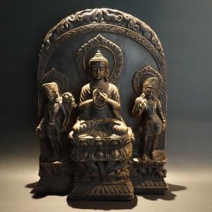 【仏像】釈迦如来 樹脂製 26cm 【送料無料】|taradou
