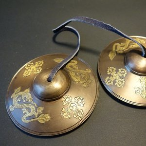 ティンシャ(チベタンベル)大 密教法具【送料無料】|taradou