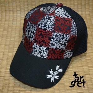tch-1687 桜刺繍メッシュキャップ  [target]|target-store