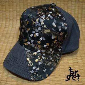 tch-1695 桜花びら切替キャップ  [target]|target-store