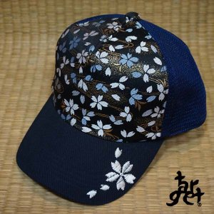 tch-1716 桜刺繍メッシュキャップ  [target]|target-store