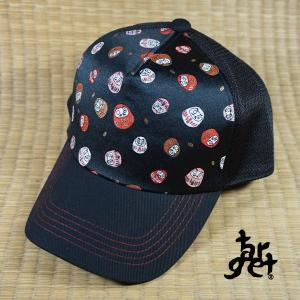 tch-1862 だるま金襴メッシュキャップ  [target] |target-store
