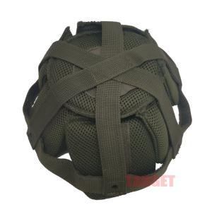 自衛隊 ヘルメット用インナークッション OD M/L (ストームクロス 陸上自衛隊 陸自 航空自衛隊...