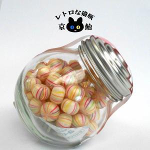 コロンとかわいい【ちょっとした贈り物に】まんまる瓶入り京飴「小糸てまり」|tarohana